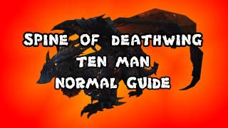 Spine of Deathwing 10 Man Normal Dragon Soul Guide - FATBOSS