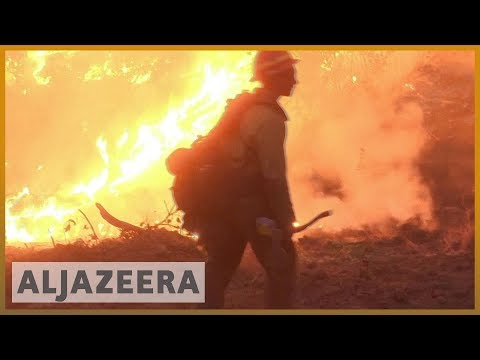 🇺🇸California wildfires death toll at 42, more than 200 missing l Al Jazeera English