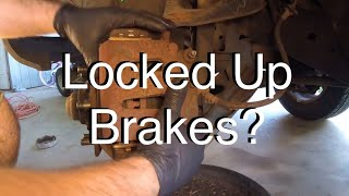 How To Diagnose a Locked Up Brake Caliper and/or Dragging Brakes