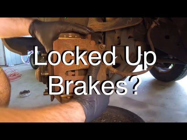 How To Diagnose A Locked Up Brake Caliper And Or Dragging Brakes Youtube