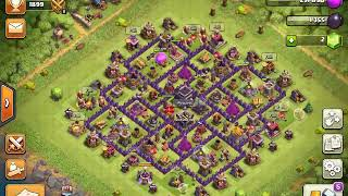 Best Th9 Attack Strategy   Town Hall 9 Trophy Pushing   Clash of Clans