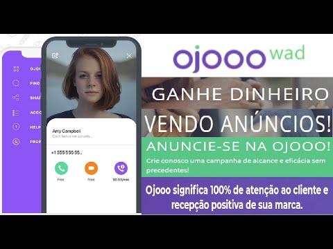 OjooWad | Ganhe dinheiro com vídeo | Assista a anúncios e ganhe até $ 0,04 por clique | Home Office