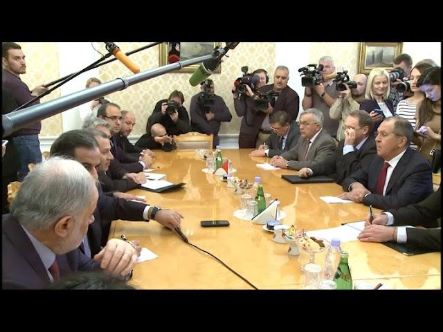Переговоры С.Лаврова и Дж.Бассиля