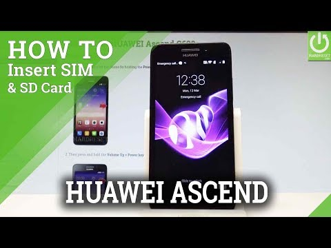 How to Insert Micro SIM and Micro SD in HUAWEI Ascend G620s |HardReset.info