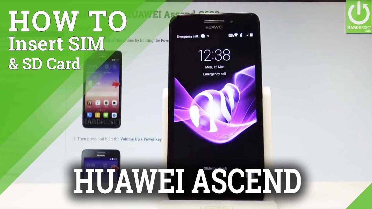 How to Insert Micro SIM and Micro SD in HUAWEI Ascend G620s |HardReset info