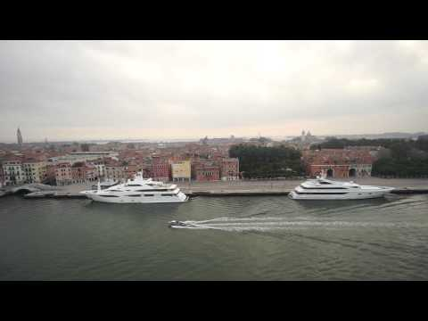 Celebrity Constellation Entering Venice Italy On 7 18 15