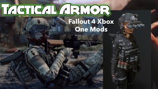 Tactical Armor Fallout 4 Xbox One Mods