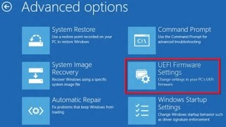 How to open BIOS setting in Windows 10