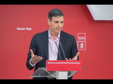 ¿Por qué el PSOE no apoya los Presupuestos de PP y Ciudadanos?