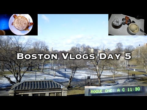 Movie, Money, and Memories: Boston Vlogs Day 5