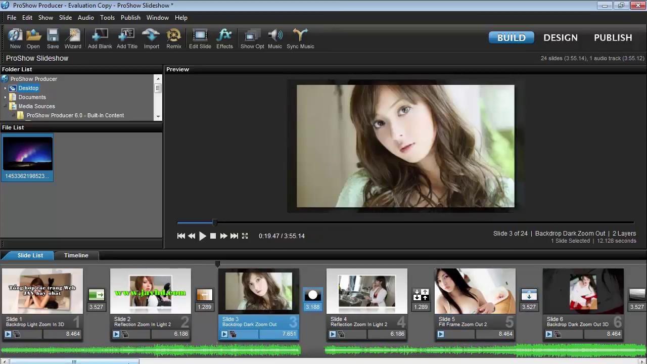 Hướng dẫn cài đặt phần mềm làm video từ ảnh có phụ đề và hiệu ứng chữ bay