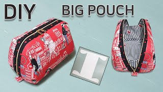 DIY Big pouch/Make a versatile…