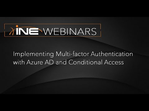 Implementing Multi-factor Authentication With Azure AD And Conditional Access