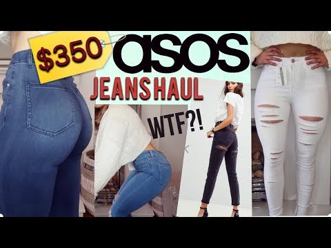 AFFORDABLE ASOS JEANS UNBOXING TRY-ON HAUL | VERY HONEST REVIEW