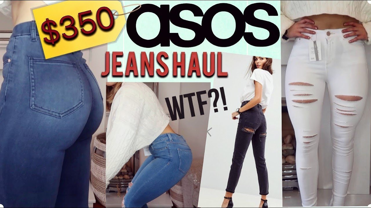e209c4ea79b AFFORDABLE ASOS JEANS UNBOXING TRY-ON HAUL