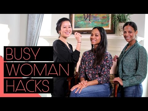 Hacks for the Busy Woman | Beauty for Everyone (feat Zoe Saldana, Cisely Saldana and Xteeener)