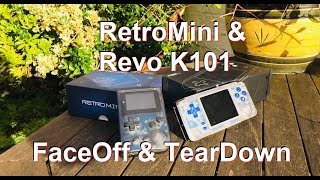 DuB-EnG: Retro Mini Revo K101 plus games console review teardown best eBay Amazon buy roms handheld
