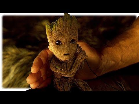 Guardians of the Galaxy 2 Teen Groot , Baby Groot & Star Lord All Scenes (2017)