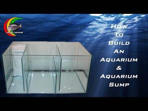How To Build An Aquarium Fish Tank And Aquarium Sump