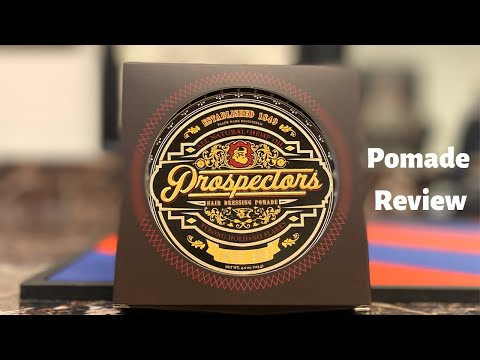 Prospector Pomades Iron Ore Review- By Peluquero Rick