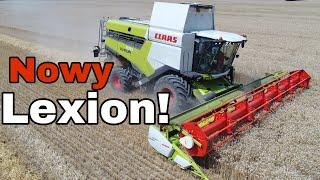 #250- Testujemy Nowego Claas'a Lexiona 6800! Ponadczasowa maszyna w polu! Żniwa 2019!