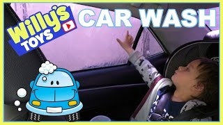 Giant Blue Monster at the CAR WASH - Willy's Toys