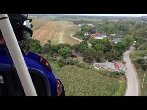 San Fernando (Philippines) cross country ultralight plane flight  2013-03-10