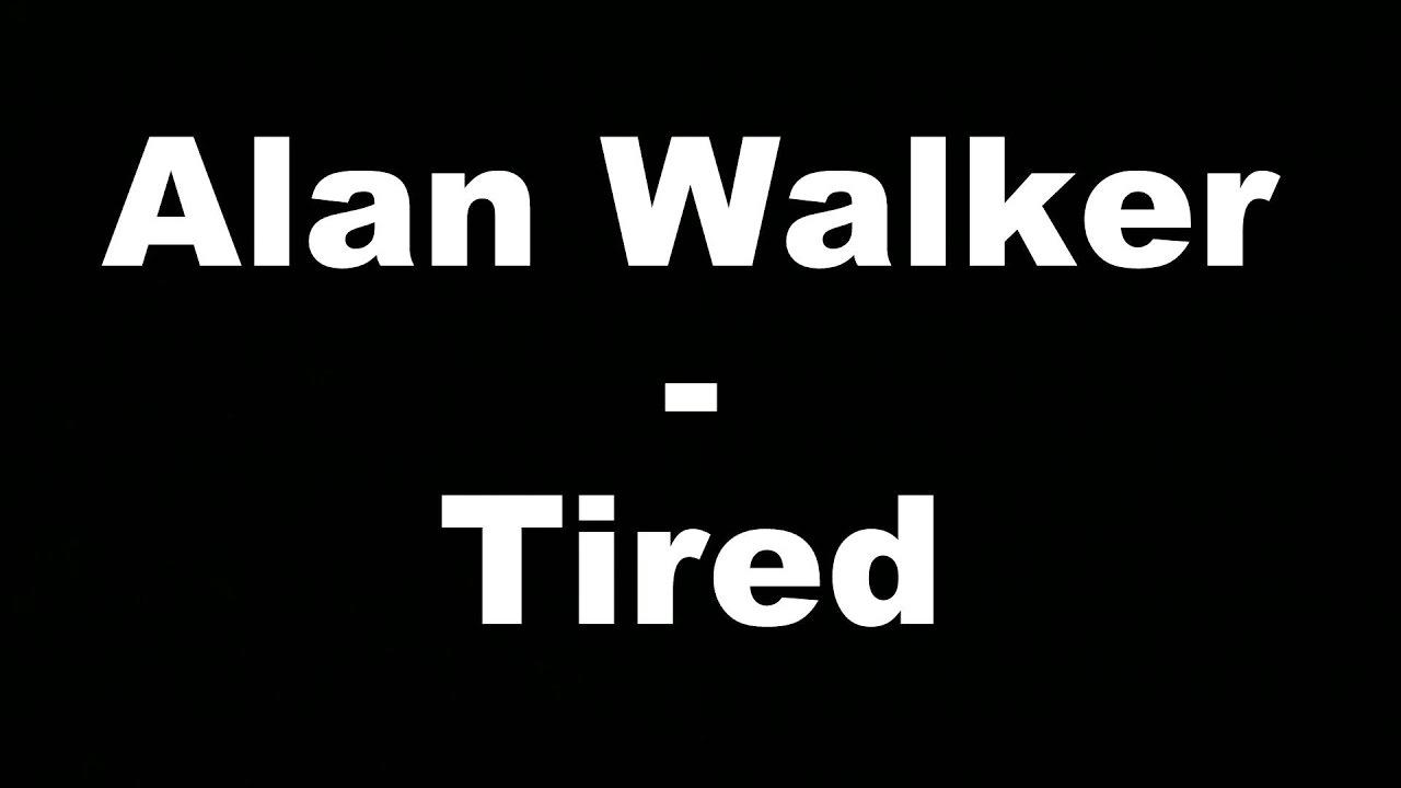 Alan Walker - Tired (Hungarian lyrics\Magyar felirat)