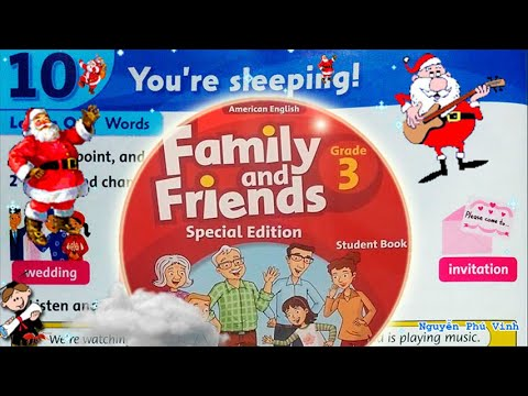 Trọn bộ Family and Friends 3 🏨🌸🏠 Unit 10 : You're sleeping! | Tiếng anh lớp 3