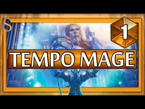 Hearthstone Tempo Mage - Put your faith in the unstable portal #1