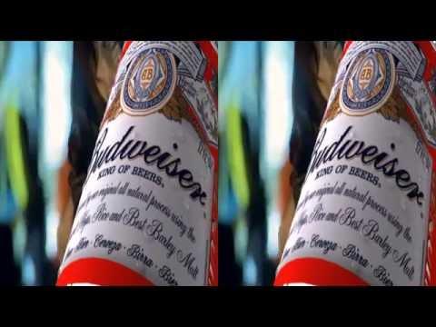 Budweiser 3D Clip (SBS)