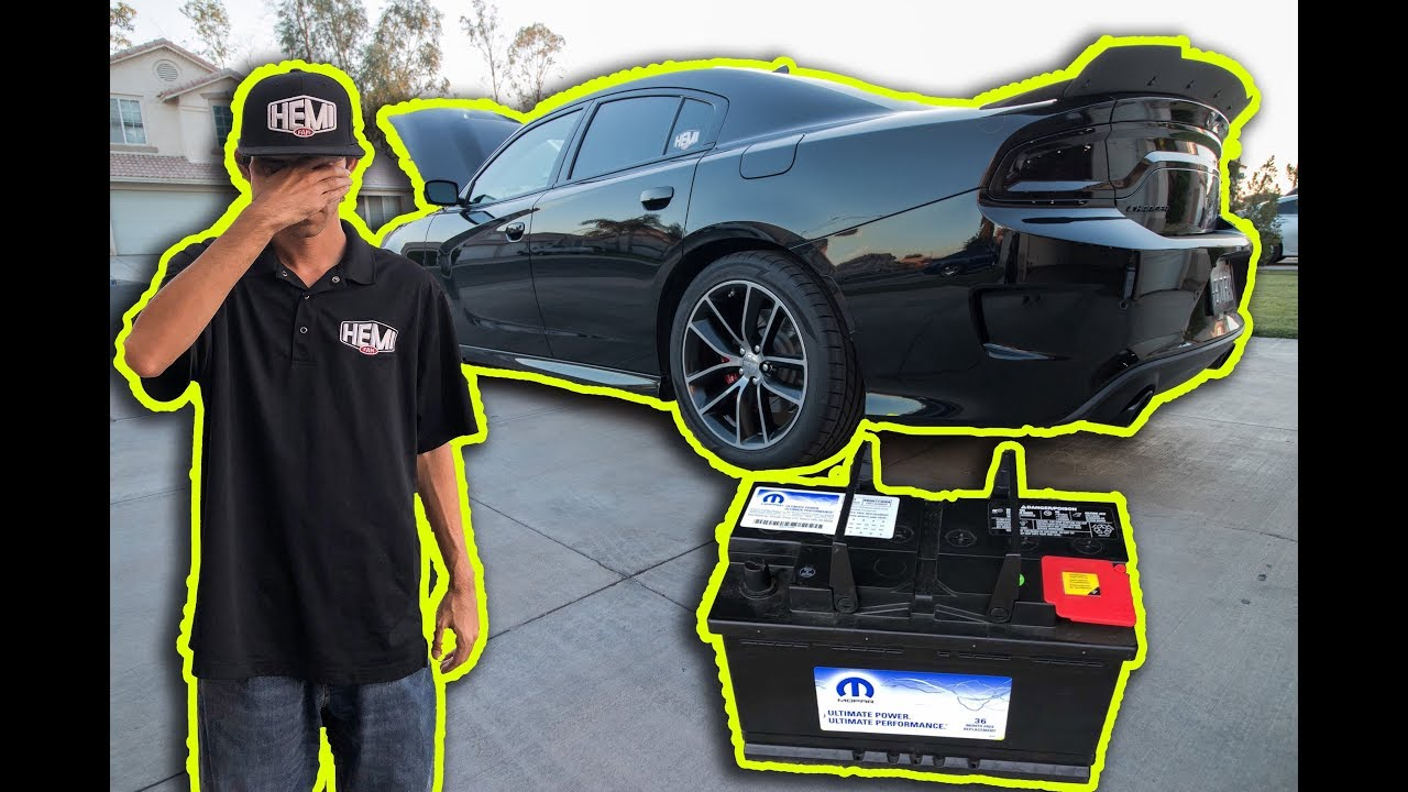Do Not Let Your Battery Die In Your Dodge Charger