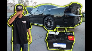 Do NOT let your battery die in your Dodge Charger! ✔️