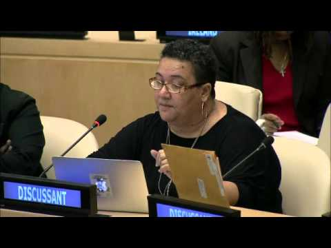 Noelene Nabulivou - Diverse Voices and Action for Equality speaks at UN