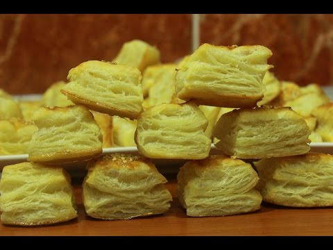 Žu Žu pogačice-Puff Pastry