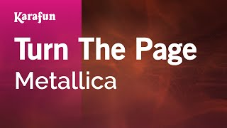 Karaoke Turn The Page - Metallica *