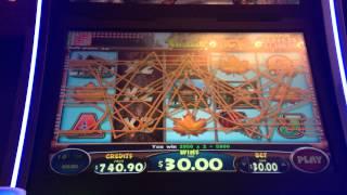 30 timber jack slot machine bonus big win high limit hand pay jackpot max bet