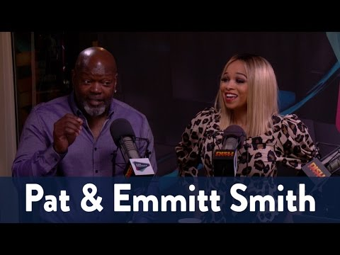 Pat & Emmitt Smith Are In Studio! | KiddNation