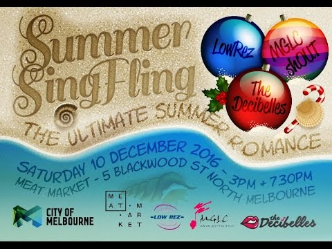 Summer Sing Fling, The Ultimate Summer Romance 2016