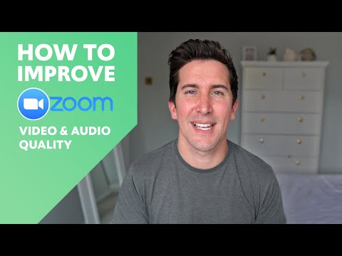 How To Improve Zoom Video And Audio Quality