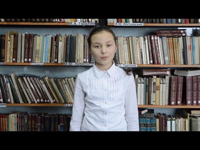 Изображение предпросмотра прочтения – КристинаВоронина читает произведение «Послушайте! (Послушайте! Ведь, если звезды зажигают…)» В.В.Маяковского