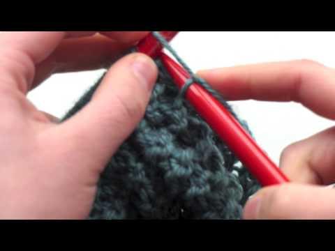 d i y tricoter une charpe tube un snood pour. Black Bedroom Furniture Sets. Home Design Ideas