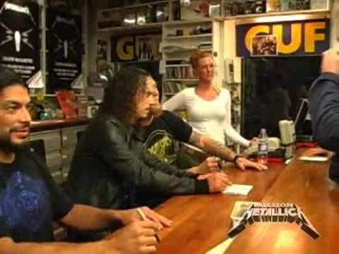 Mission Metallica: Fly on the Wall Clip (September 12, 2008)