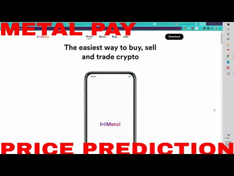 Metal Coin Price Prediction MTL Coin Crypto Price Prediction News Today Coinbase Soon