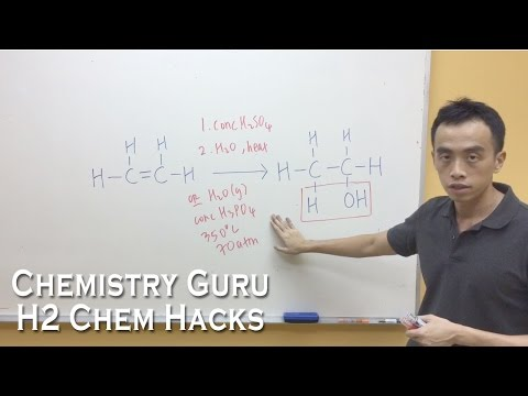 How to memorise Alkene Reactions, Reagents and Conditions - H2ChemHacks