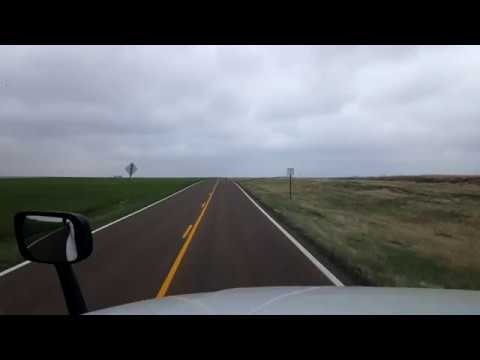 BigRigTravels LIVE! CO/KS State Line on US 160 to Liberal, Kansas-May 12, 2018