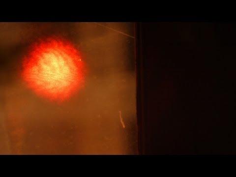 Laser microphone for audio surveillance via window panes