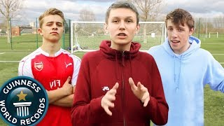 BREAKING W2S WORLD RECORD FOOTBALL CHALLENGES