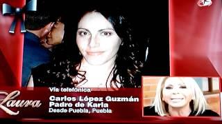 Repeat youtube video Encuentran cadaver de Karla López en el DF: murió asfixiada | Cambio TV