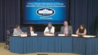 White House Champions of Change: Disability Advocates